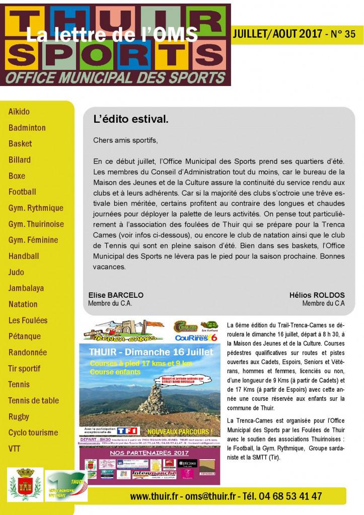 La lettre n° 35 Juillet Août 2017-page-001