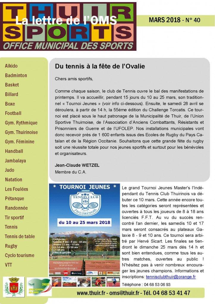 La lettre n° 40 Mars 2018-page-001