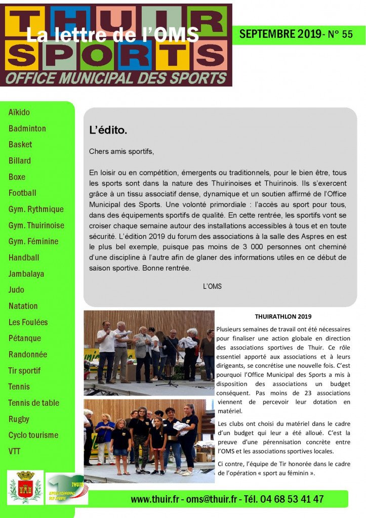 La lettre n° 55 Sept 2019-page-001